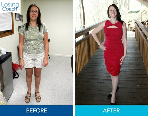 Weight Loss Success with Losing Coach® Tracey