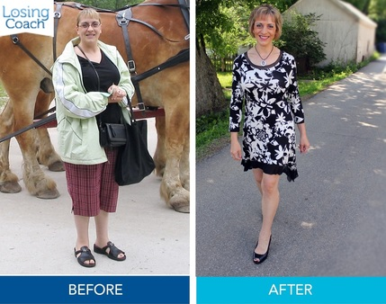Weight Loss Success with Losing Coach® Chrissy