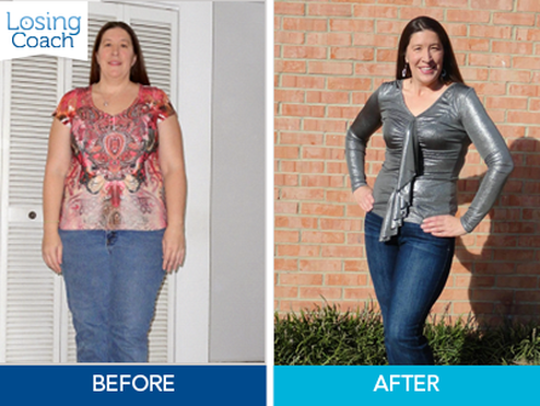 Weight Loss Success with Losing Coach® Tiffany