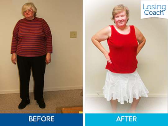 Weight Loss Success with Losing Coach® Lisa