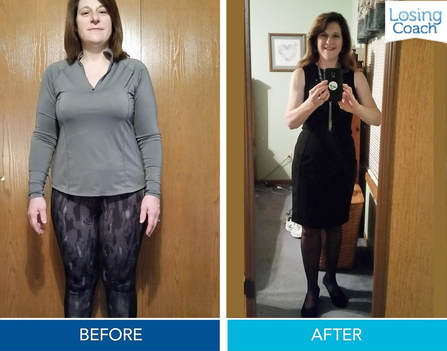 Susan D lost 30 lbs with Losing Coach®